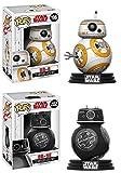 Funko POP! Star Wars The Last Jedi: BB-8 + BB-9E – Vinyl Bobble-Head Set NEW