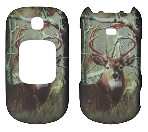 2D Camo Buck Deer Realtree Samsung Gusto 2 - II U365 Verizon Case Cover Hard Phone Case Snap-on Cover Rubberized Touch Protector Faceplates