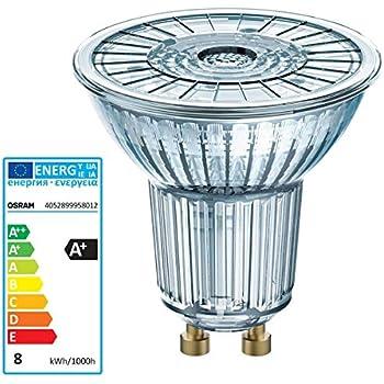 Osram Parathom PAR16 - Lámpara LED (7,2 W, 80 W, GU10
