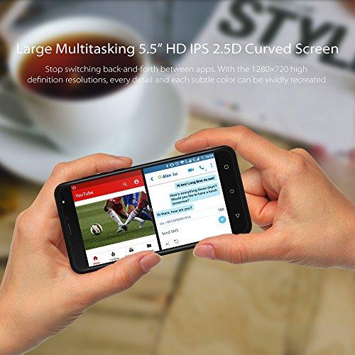 Smartphone Libres Baratos 3G  Wieppo S6 Lite Tel  fono M  vil Dual SIM con Pantalla DE 5 5 Pulgadas HD 1280 720  Doble C  mara 8MP 5MP  1GB RAM 8GB RO