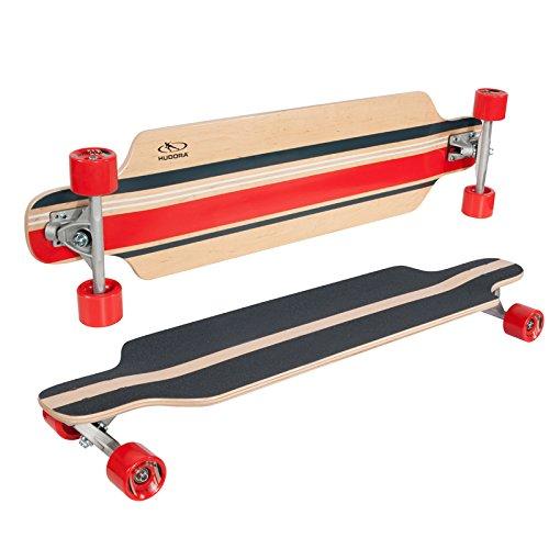 Preisvergleich Produktbild HUDORA Longboard La Jolla 98x25cm Skateboard Streetboard Cruiserboard Streetsurfer Board