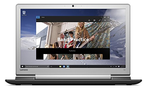 Lenovo IdeaPad 700 43,9 cm (17,3 Zoll Full HD IPS Anti-Glare) Notebook (Intel Core i5-6300HQ Quad-Core, 8 GB RAM, 1 TB HDD + 256 GB SSD, Nvidia GeForce GTX 950M 4 GB, Windows 10) schwarz