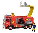 Simba 109251036 - Feuerwehrmann Sam Jupiter 2.0 mit 2 Figuren