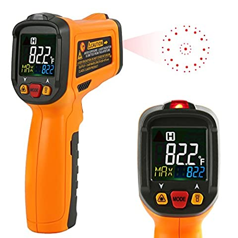 Thermomètre Infrarouge Laser Janisa PM6530B Numérique Temperature Interieur Cuisine Mesure Temperature -50℃ à 550℃ Rapid Sight Lire Grand Ecran LCD Notice Utilisation Francais PDF
