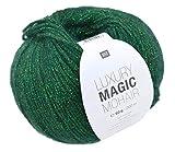 Rico Luxury Magic Mohair F. 07 - grün, Wolle mit Lurexfaden/Glitzer zum Stricken und Häkeln