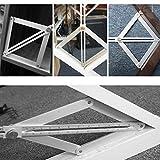 Winkelmesser Messlineal Winkelsucher,Nourich Wiederverwendbar Winkel Lineal Neigungsmesser Präzision Messung Winkel Lineal für Holzbearbeitung Reparatur (Kurz)