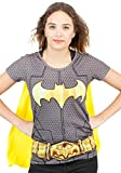 Best Bioworld Capes - Femmes Batman Superhero Costume T-shirt Avec Le Cap Review