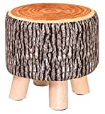 Kreatives Holz Stoff für Schuh Hocker Haushalt Hocker Ruhiger Hocker