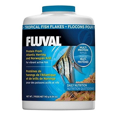 Fluval Comida en Escamas para Peces Tropicales - 140 gr / 750 ml