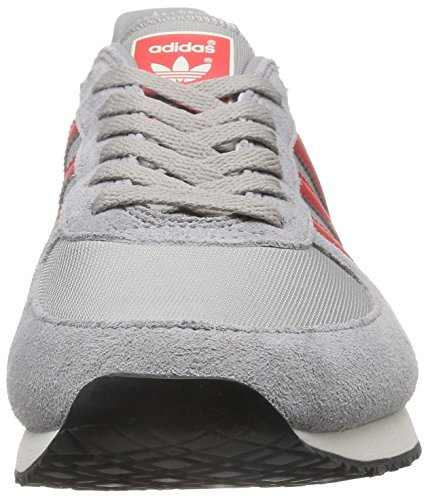 adidas Zx Racer, Chaussures de Running Entrainement Homme Gris (Mgh Solid  Grey/Lush ...