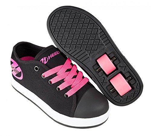 Heelys X2 Fresh Schuhe schwarz-schwarz-pink Mädchen Black/Pink