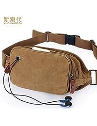 Buyworld Db28 2016 Travel Bags Canvas Waist Bag Men Fanny Pack Man Out Door Money Belt Bag Men Waist Pack Pochetes...