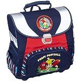 Amaro 3139-00_O6 Fussball - Juego de mochila escolar y accesorios, diseño de fútbol, color azul
