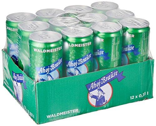 Ahoj-Brause Waldmeister, 12er Pack, EINWEG (12 x 330 ml)