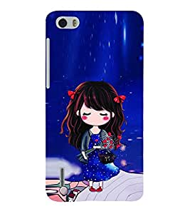 Print Masti Designer Back Case Cover for Huawei Honor 6 Plus (Star Stylish Hair Child Purse)