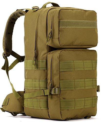 Dccn 50l zaino militare / tattico molle / campeggio / zaino di assalto / escursionismo / sport / patrol camping