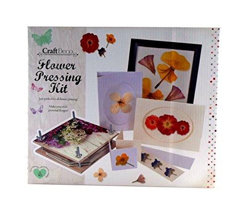 Craft Deco Flower Pressing Kit Test