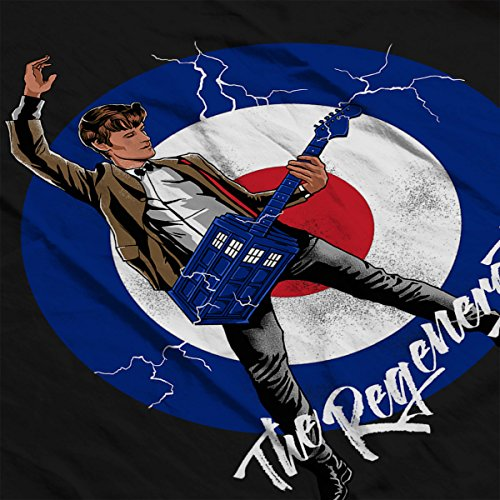11th Doctor Who The Regeneration Tour Men's Vest Black