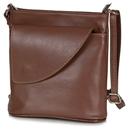 GROUP DE LUXE, Borsa a spalla donna Brown (Marrone)