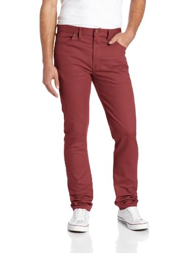Dickies - WP810OX, Jeans skinny da uomo, rosso (oxblood), 28W / 30L