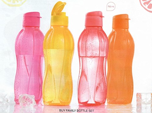 Tupperware Lote de 4 botellas con...