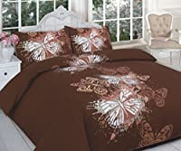 Duvet Cover and Pillowcase Set Quilt Bedding Set With Pillow Cases Single Double King Super King Size Blocks Printed Reversible