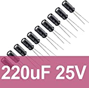 220uF 25V Elektrolitik Kondansatör (10 Adet)