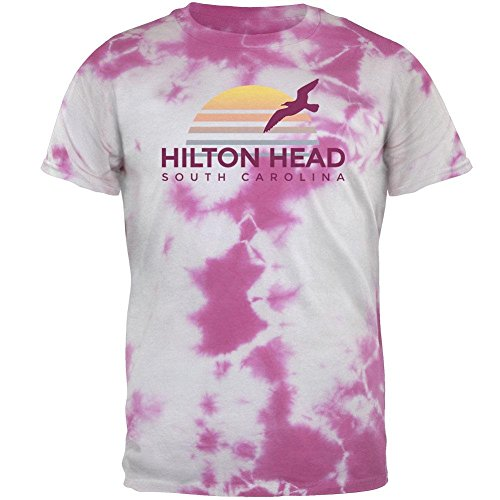 playa-sol-hilton-head-carolina-del-sur-para-hombre-t-shirt