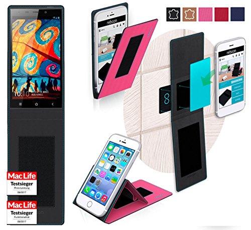 reboon Hülle für Gionee Elife E7 Tasche Cover Case Bumper | Pink | Testsieger