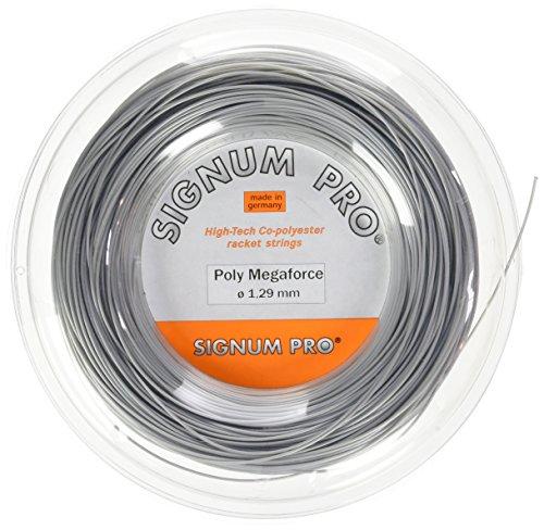 Signum Saitenrolle Poly Megaforce, Silver, 200 m, 0255000238300015