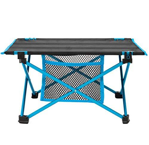 Mini Table Pliante Portable Table De Pique-Nique Barbecue Table De Thé en Aluminium Table D'ordinateur