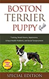 Boston Terrier Puppy Training Guide: Training, Breed History, Appearance, Unique Health Problems, and Social Temperament