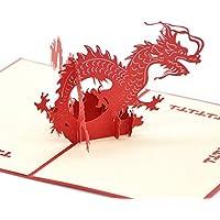 medigy 3d pop up Congratulazioni biglietto di auguri per più occastions, tridimensionale, il drago (Congratulazioni Nuovo Bambino)