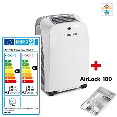 trotec-lokales-mobiles-klimagerat-klimaanlage-pac-2000-sh-mit-2-kw-7000-btu-eek-a-4-in-1-gerat-klima