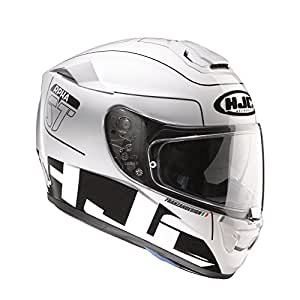 RSBBS - HJC RPHA ST Balmer Motorcycle Helmet S Black/White (MC5)