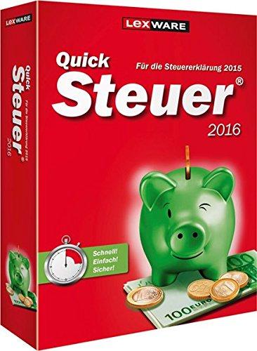 Preisvergleich Produktbild QuickSteuer 2016 (für Steuerjahr 2015)