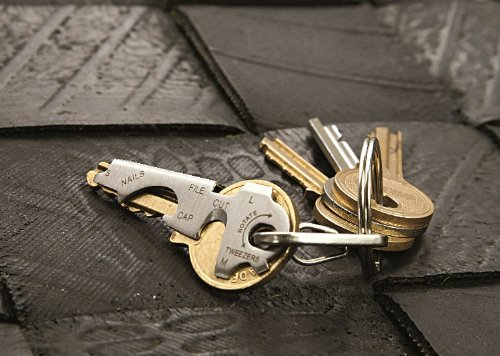 51lYB7IJDdL - KeyTool 8-in-1 Keyring Multi-tool, True Utility