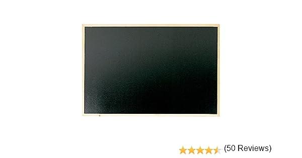 90 x 60 cm Makro Paper PM705 Lavagna con cornice in legno