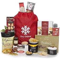 Cesta de delicias de invierno - Un delicioso regalo de Navidad gourmet - Cestas de Navidad