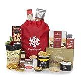 Weihnachtslieblingskorb für Sie – Essen & Trinken; Weihnachtskörbe - Voll mit Weihnachtsleckereien, die sie lieben wird – Alkoholfreie Getränke