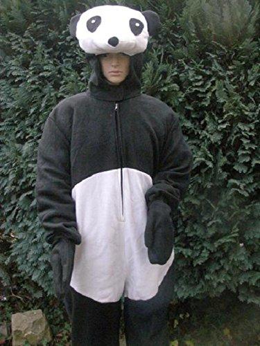 Schnee Kostüm Panda (Panda Bär Faschingskostüm Junggesellenabschied Fastnacht Fasching Karneval Kostüm Karnevalskostüm Pandabär Bären)
