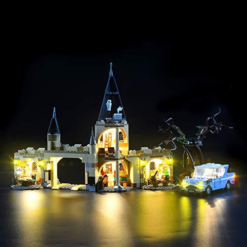 LIGHTAILING Conjunto de Luces (Harry Potter Sauce Boxeador de Hogwarts) Modelo de Construcción de Bloques - Kit de luz LED Compatible con Lego 75953 (NO Incluido en el Modelo)