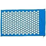 Goods & Gadgets acupressuurmat yogi nagelmat enspantanings- en massagemat voor het versoepelen van ontspanning; lila (73x43cm
