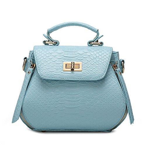 Art Und Weise Beiläufige Schulter-diagonale Handtasche,Pink Blue