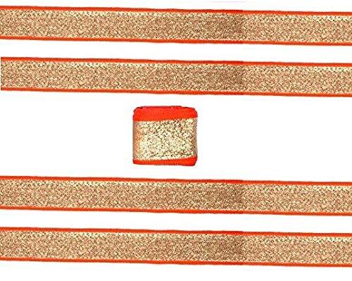Goelx Glittery Gota Patti Laces For Dress/Sarees/Lehangas/Blouses