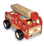Großer Feuerwehrlaster Holz Feuerwehr Feuerwehrauto