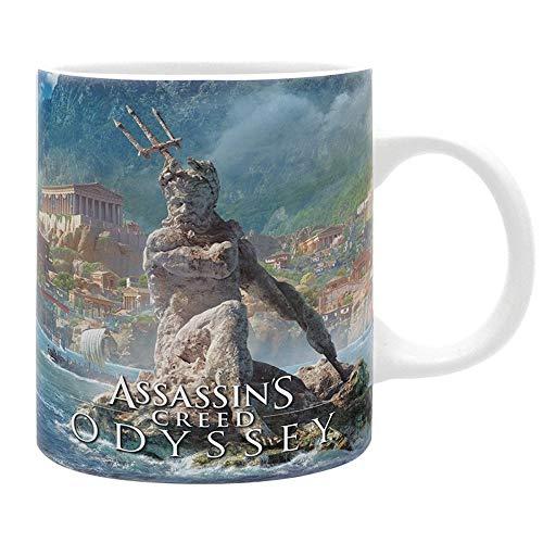 Assassins Creed Odyssey - Keramik Tasse - Griechenland - Alexios - Geschenkbox