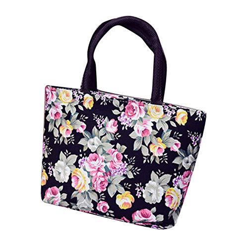EVAEVA-bags Damen Handtaschen Schultertasche Schulterbeutel Mode frauen mädchen druck leinwand einkaufen handtasche schulter tote einkaufstasche (Beste Leinwand Tote Taschen)