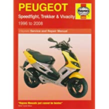 Peugeot Speedfight, Trekker (TKR) and Vivacity Service and R: 1996 to 2008 (Haynes Service and Repair Manuals)