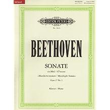 """Sonate für Klavier Nr. 14 cis-Moll op. 27; 2 """"Mondschein-Sonate"""" / URTEXT: Sonata quasi una Fantasia"""